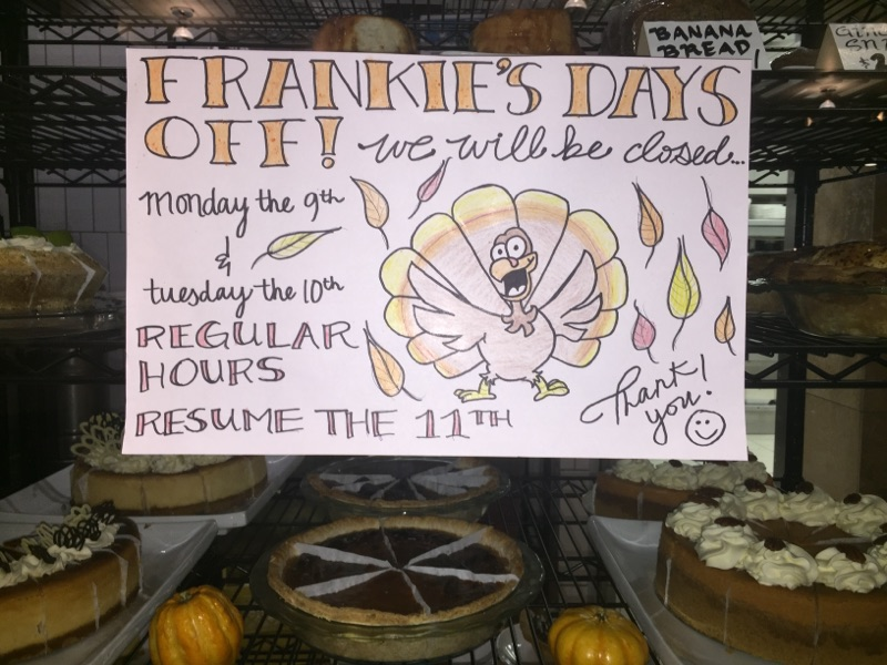 Frankie's Thanksgiving